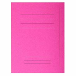 Exacompta Forever Square Cut Folders Printed Pack of 250 Fuchsia