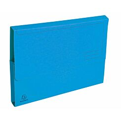 Exacompta Forever Document Wallets A4 2 Packs of 50 290gsm Blue