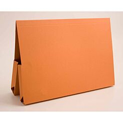 Exacompta Guildhall Double Legal Wallet Foolscap Pack of 25 315gsm Orange