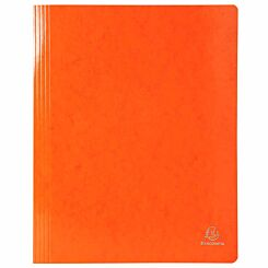 Exacompta Iderama Flat Bar Files Flat A4 Pack of 25 355gsm Orange