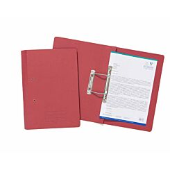 Exacompta Guildhall Spiral File Foolscap Pack of 25 285gsm Red