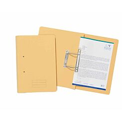 Exacompta Guildhall Spiral File Foolscap Pack of 25 285gsm Yellow