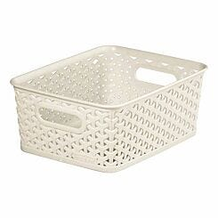 Curver My Style Storage Basket Medium 13 Litres