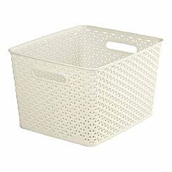 Curver My Style Storage Basket Large 18 Litres
