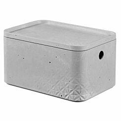 Curver Beton Storage Box with Lid 4 Litre