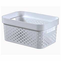 Curver Infinity Recycled Storage Basket 4.5 Litre