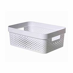 Curver Infinity Recycled Storage Basket 11 Litres Pack of 6