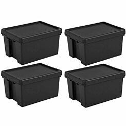Wham Bam Recycled Storage Boxes 16 Litre Pack of 4