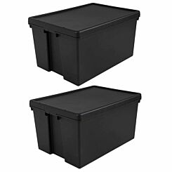 Wham Bam Recycled Storage Box 96 Litres Pack of 2