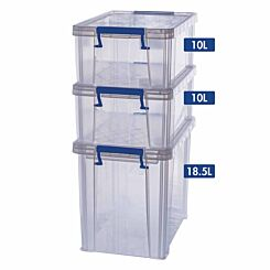 ProStore Storage Box Bonus Pack 4 38.5L Capacity