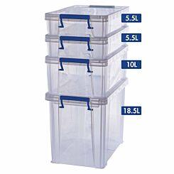 ProStore Storage Box Bonus Pack 5 39.5L Capacity
