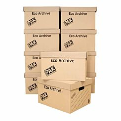 StorePAK Eco Archive Box and Lid Pack of 10