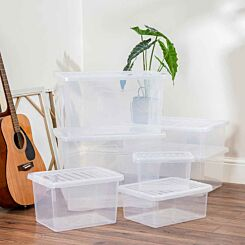 Wham Crystal Box and Lid Multisize 7 Piece Set