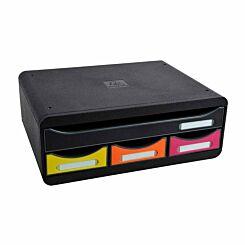 Exacompta Toolbox Mini 4 Drawer Set
