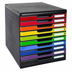 Exacompta Modulo Maxi 10 Drawer Set A4