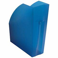Exacompta Linicolor Magazine File Pack of 3 Royal Blue