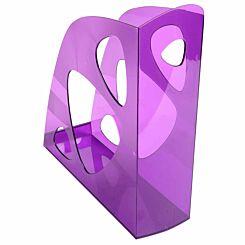 Exacompta ECOMAG Magazine File Pack of 10 Purple