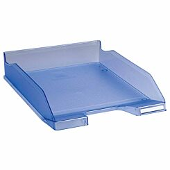 Exacompta Office Letter Tray Midi Combo Pack of 6 Translucent Matte