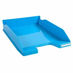 Exacompta Office Letter Tray Midi Combo Pack of 6 Gloss Turquoise