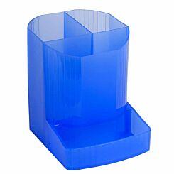 Exacompta Mini Octo Pen Pot Ice Blue