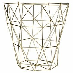 Vertex Storage Basket Gold
