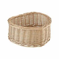 Premier Housewares Natural Willow Heart Shape Basket