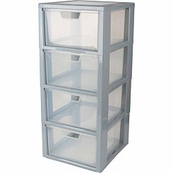 Tontarelli 4 Drawer Linea Modular Storage Unit