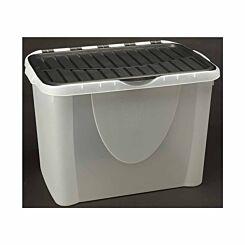 Tontarelli Flip Lid Plastic Storage Box 60 Litre