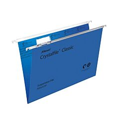 Rexel Crystalfile Classic Foolscap Suspension File 15mm Pack of 50 Blue