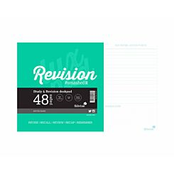 Silvine Revision Pad 48 Sheets 360x230mm
