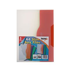 Tiger Brand Tuff Box Pack of 3 Slim