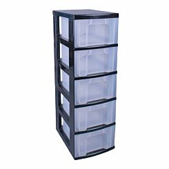 Really Useful Storage Tower 5 x 12 Litre Drawer