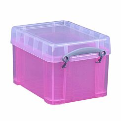 Really Useful Box 3 Litre Bright Pink