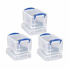 Really Useful Boxes 3 Litre Pack of 3