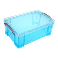 Really Useful Storage Box 9 Litre Light Blue