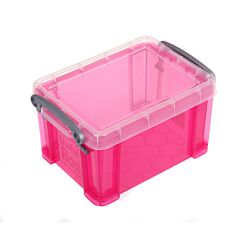 Really Useful Box 1.6 Litre Bright Pink