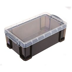 Really Useful Storage Box 5 Litre Smoke