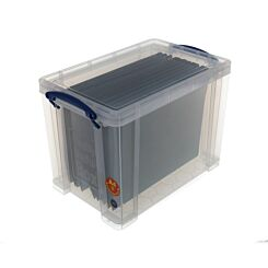 Really Useful Storage Box 19 Litre with 10 Files