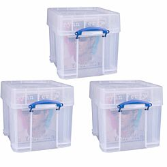 Really Useful Storage Box 35 Litre XL Pack of 3