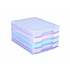 Really Useful Storage Drawer Unit Pastel 4x3 Litre