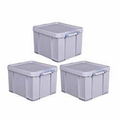 Really Useful Box Recycled 35 Litre Pack of 3