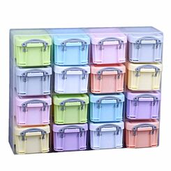 Really Useful Box Organiser 0.14L Pastel