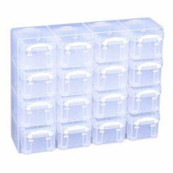 Really Useful Box Organiser 0.14L White