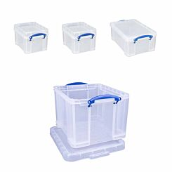 Really Useful Box 35 Litre Bonus Pack Assorted Sizes