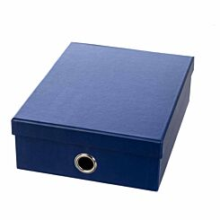 Ryman Storage Box Large Navy Blue