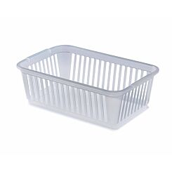 Whitefurze Handy Basket 25cm Pack of 5 Clear