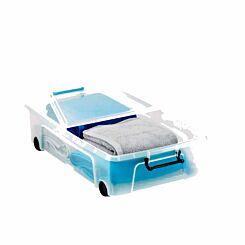 Strata Under-bed Smart Plastic Storage Box 35 Litre