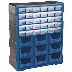 Draper 30 Drawer Organiser with 9 Bins