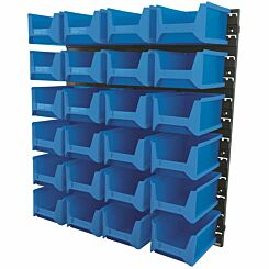 Draper 24 Large Bin Wall Storage Unit