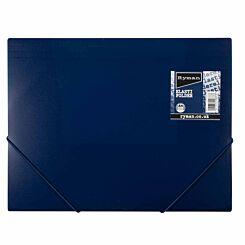 Ryman Pastel Elasti Folder A4 Navy